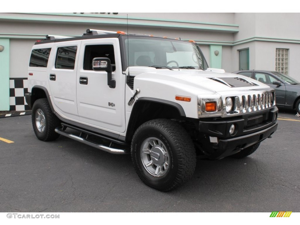 birch white 2007 hummer h2 suv exterior photo 78495053. Black Bedroom Furniture Sets. Home Design Ideas