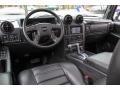 Ebony Black 2007 Hummer H2 Interiors