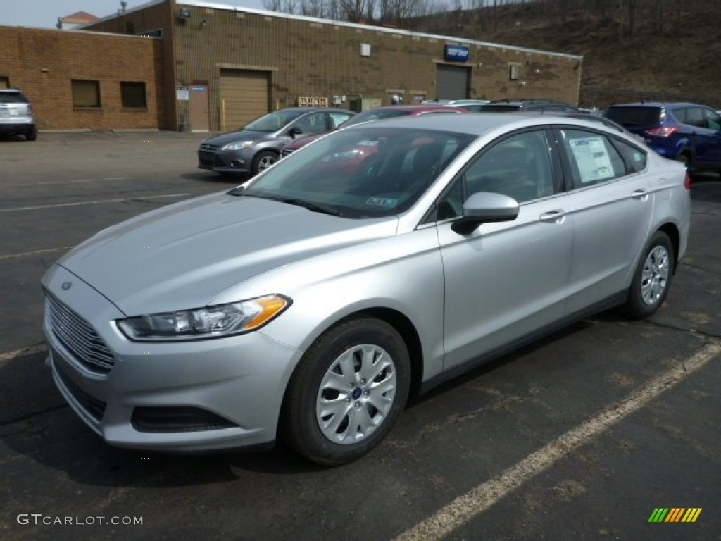 Ingot Silver Metallic 2013 Ford Fusion S Exterior Photo 78495857