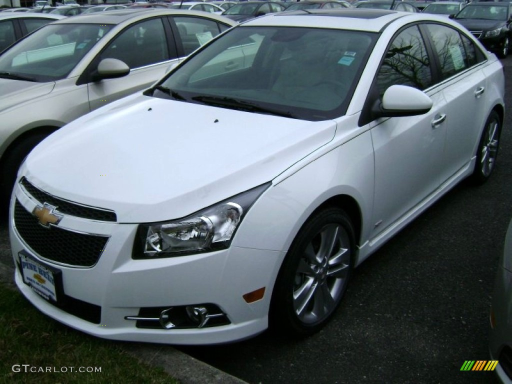 2013 summit white chevrolet cruze ltz rs 78461092 car color galleries. Black Bedroom Furniture Sets. Home Design Ideas