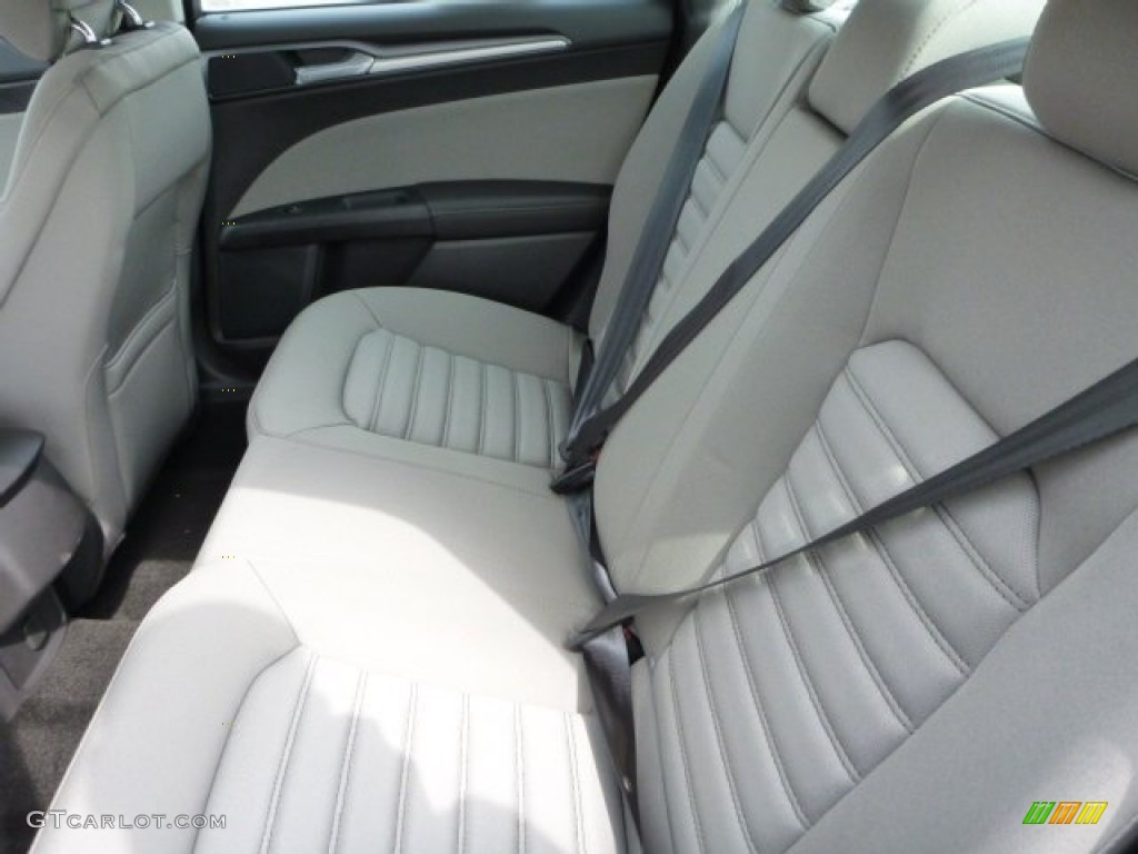 Earth Gray Interior 2013 Ford Fusion S Photo 78495938