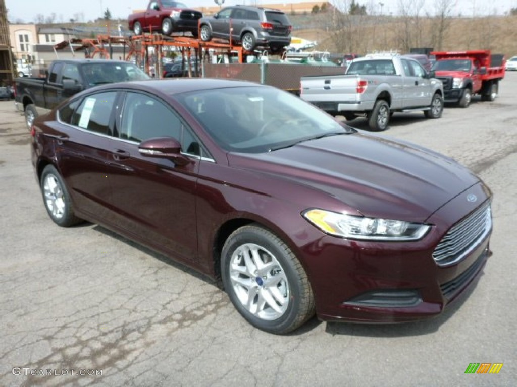 2013 Fusion SE - Bordeaux Reserve Red Metallic / Charcoal Black photo #1