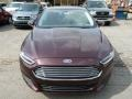 2013 Bordeaux Reserve Red Metallic Ford Fusion SE  photo #6
