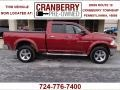 2011 Deep Cherry Red Crystal Pearl Dodge Ram 1500 Big Horn Quad Cab 4x4  photo #1