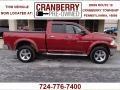 2011 Deep Cherry Red Crystal Pearl Dodge Ram 1500 Big Horn Quad Cab 4x4  photo #1