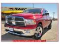 Inferno Red Crystal Pearl 2010 Dodge Ram 1500 SLT Crew Cab