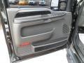 2005 Ford F250 Super Duty Black Interior Door Panel Photo