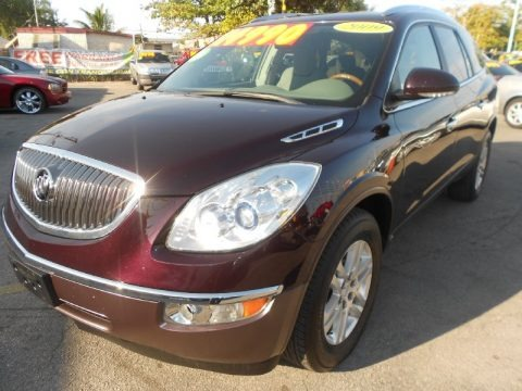 2009 Buick Enclave CX Data, Info and Specs