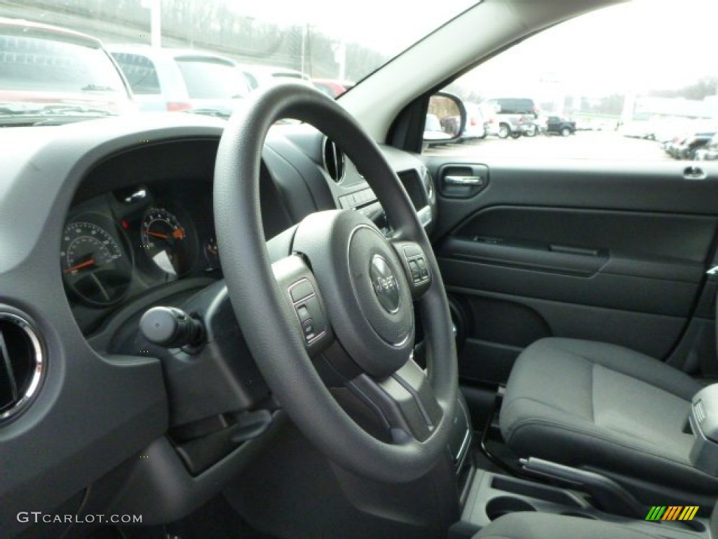 2014 jeep compass sport 4x4 dark slate gray steering wheel. Black Bedroom Furniture Sets. Home Design Ideas