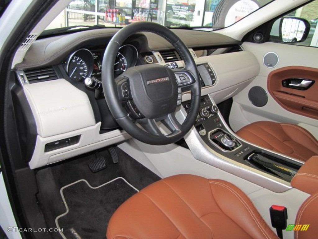 Tan ivory espresso interior 2012 land rover range rover - 2012 range rover interior pictures ...
