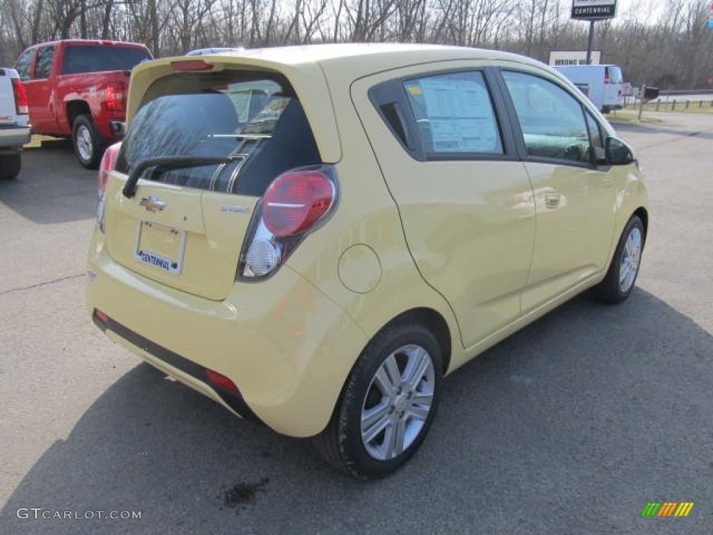 2013 Lemonade Yellow Chevrolet Spark LS 78461382 Photo 6