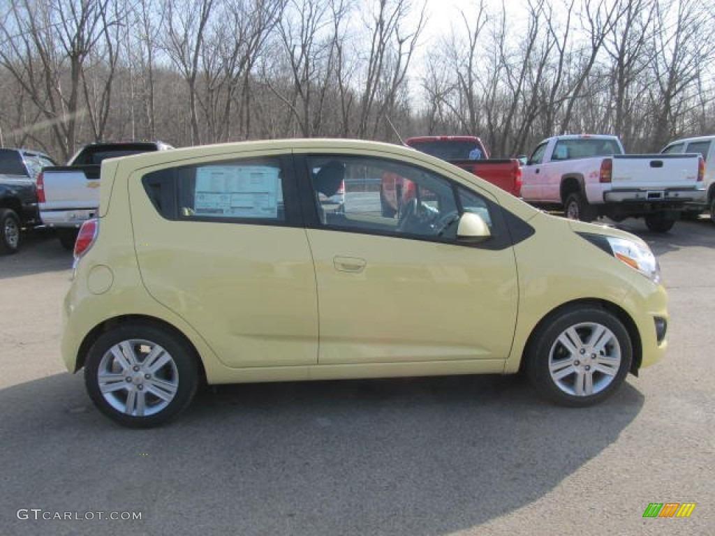 2013 Lemonade Yellow Chevrolet Spark LS 78461382 Photo 7