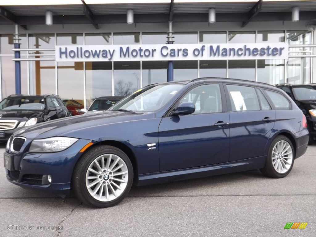 Deep Sea Blue Metallic Bmw  Series Bmw I Xdrive Sports Wagon