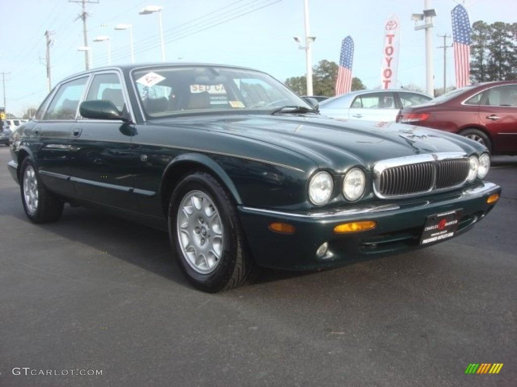 2000 british racing green jaguar xj xj8 78523941 car color galleries. Black Bedroom Furniture Sets. Home Design Ideas
