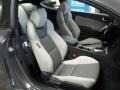 Gray Leather/Gray Cloth Front Seat Photo for 2013 Hyundai Genesis Coupe #78533667