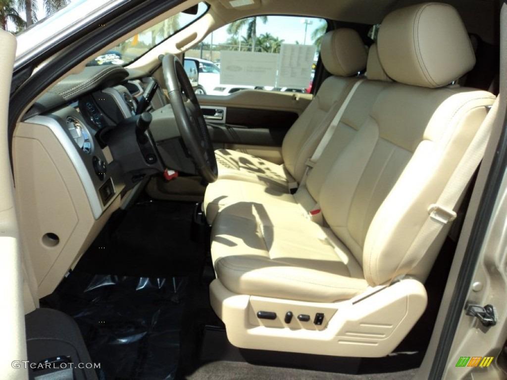 2012 Ford F150 Lariat Supercrew 4x4 Interior Color Photos