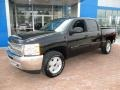 2013 Black Chevrolet Silverado 1500 LT Crew Cab 4x4  photo #10