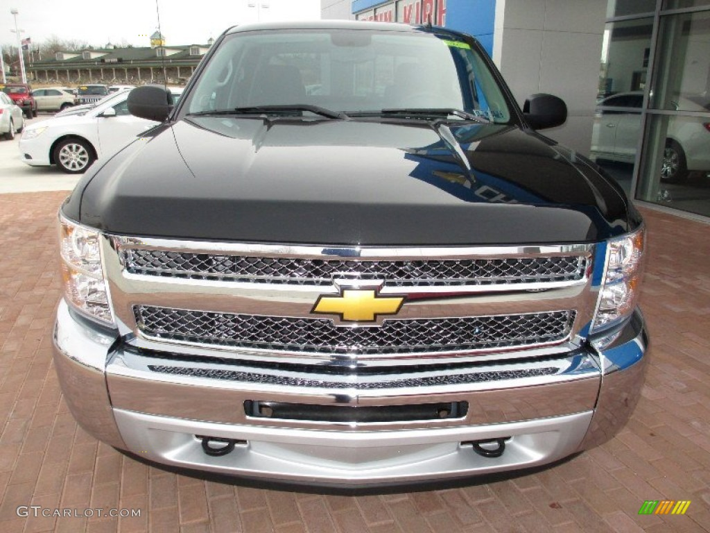 2013 Silverado 1500 LT Crew Cab 4x4 - Black / Ebony photo #15
