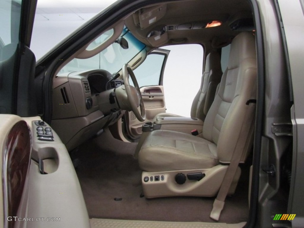 2003 Ford Excursion Limited Interior Photos