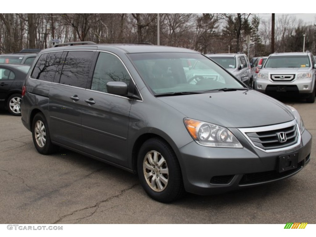 sterling gray metallic 2009 honda odyssey ex exterior photo 78550624