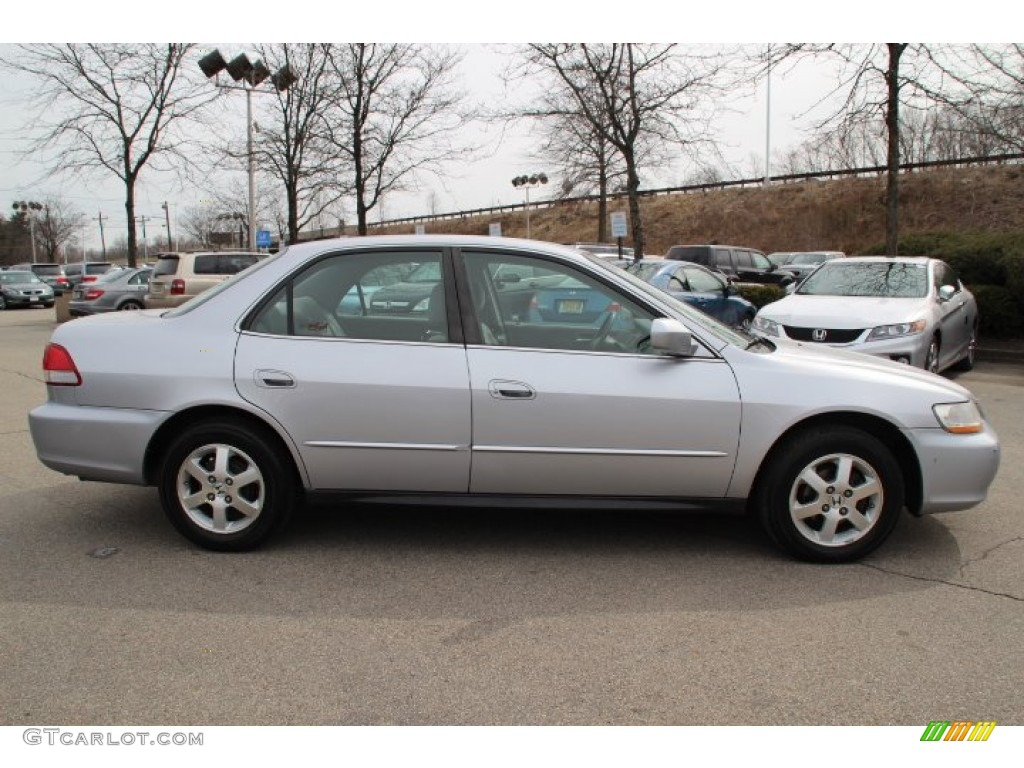 satin silver metallic 2001 honda accord lx sedan exterior