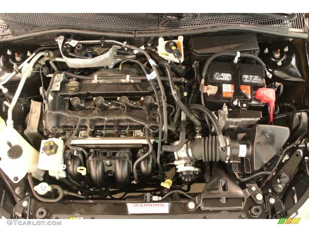 2010 ford focus sel sedan 2 0 liter dohc 16 valve vvt duratec 4 cylinder engine photo 78557464. Black Bedroom Furniture Sets. Home Design Ideas