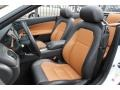 2012 Jaguar XK Caramel/Warm Charcoal Interior Front Seat Photo