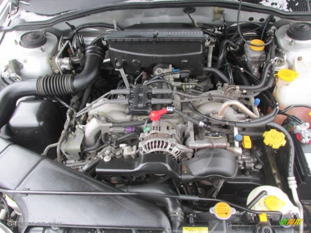 2002 Subaru Legacy Gt Limited Sedan Engine Photos