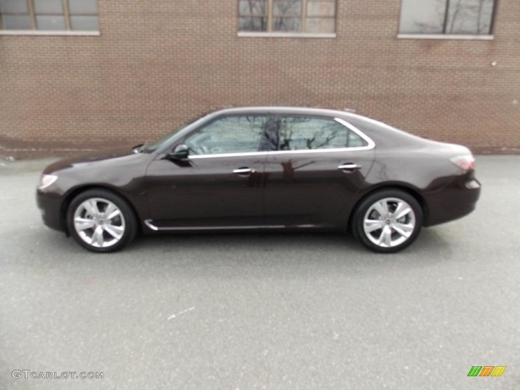 2011 java brown metallic saab 9 5 turbo4 premium sedan 78550547 car color. Black Bedroom Furniture Sets. Home Design Ideas