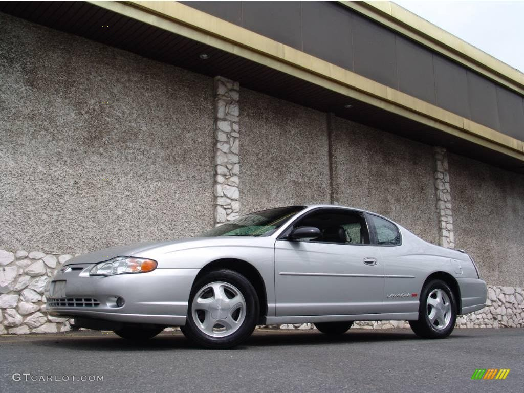 2000 Monte Carlo SS - Galaxy Silver Metallic / Ebony photo #1