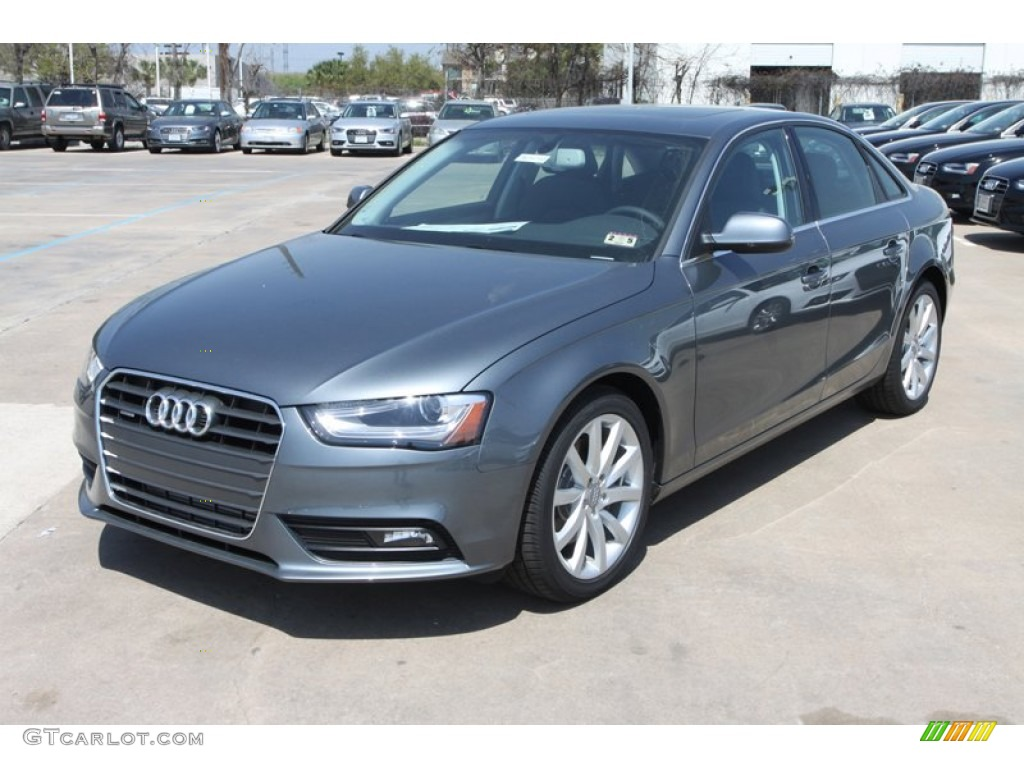 Monsoon Gray Metallic 2013 Audi A4 2 0t Quattro Sedan