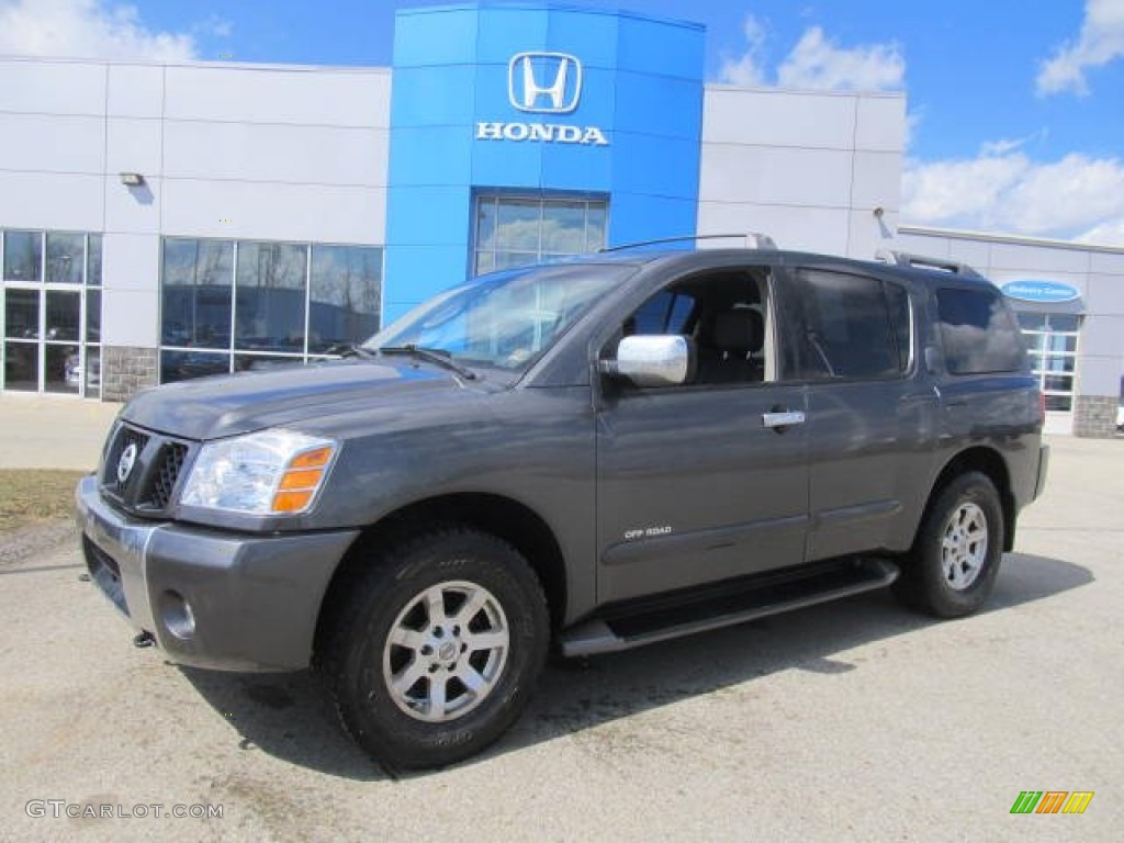 2004 smoke metallic nissan armada se off road 4x4 78585006 smoke metallic nissan armada vanachro Images