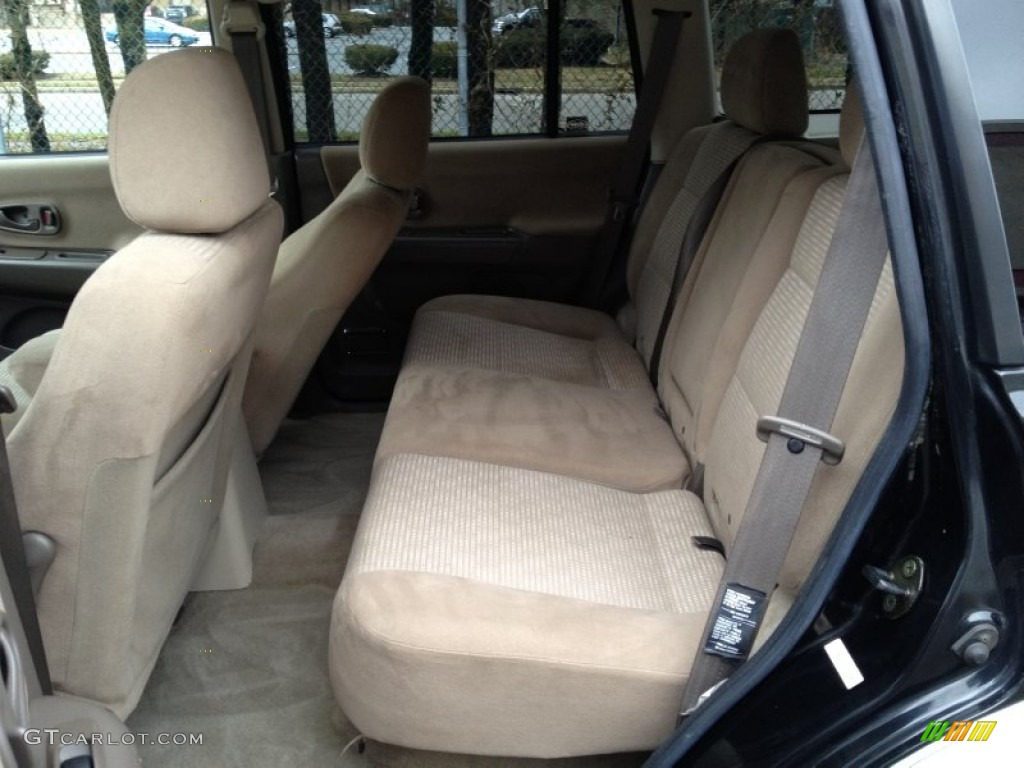 2002 mitsubishi montero sport xls 4x4 rear seat photo 78588210. Black Bedroom Furniture Sets. Home Design Ideas