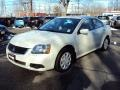 Dover White Pearl 2009 Mitsubishi Galant ES
