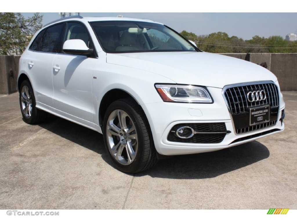 2013 glacier white metallic audi q5 3 0 tfsi quattro 78585110 car color galleries. Black Bedroom Furniture Sets. Home Design Ideas