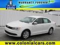 Candy White 2012 Volkswagen Jetta SE Sedan