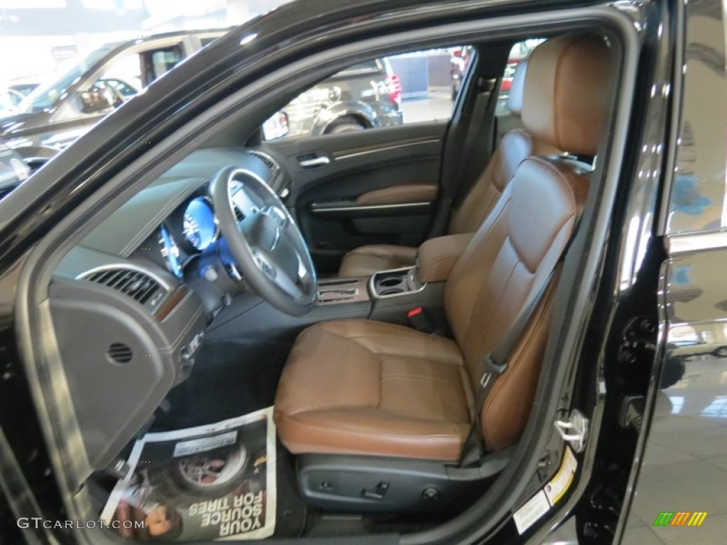 Dark Mocha Black Interior 2013 Chrysler 300 C John