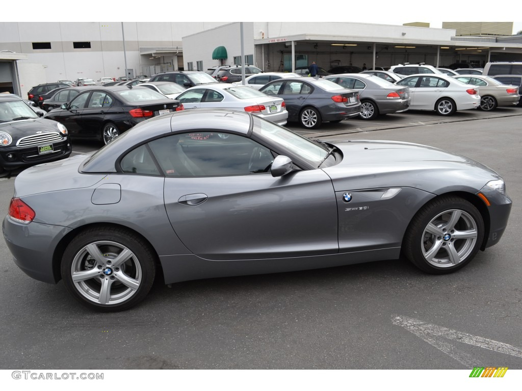 2011 Space Gray Metallic Bmw Z4 Sdrive30i Roadster