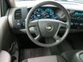 Dark Titanium Steering Wheel Photo for 2008 Chevrolet Silverado 1500 #78617109
