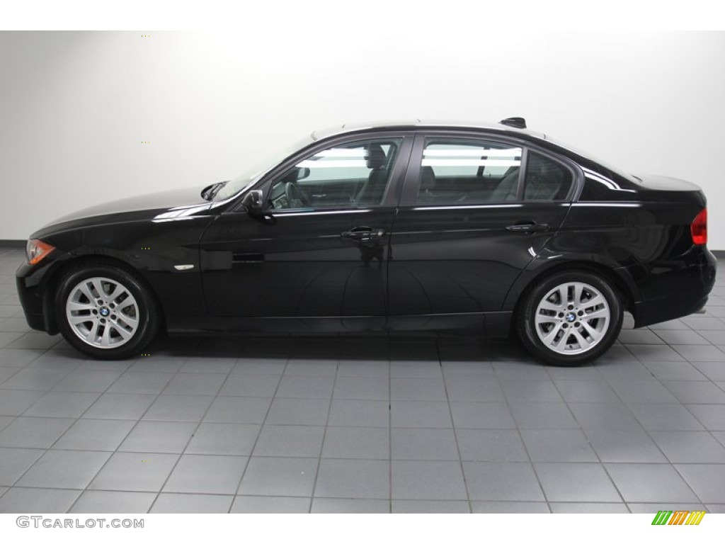 jet black 2007 bmw 3 series 328i sedan exterior photo 78625068. Black Bedroom Furniture Sets. Home Design Ideas