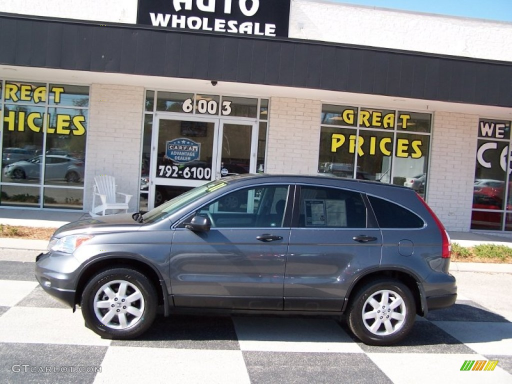 2011 CR-V SE - Polished Metal Metallic / Black photo #1