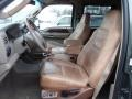 Castano Brown 2003 Ford F250 Super Duty Interiors
