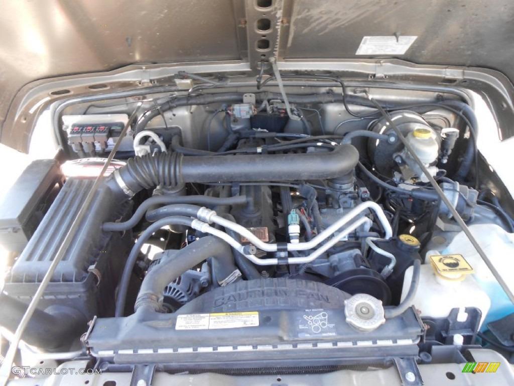 on 2000 Jeep Wrangler 6 Cylinder Engine
