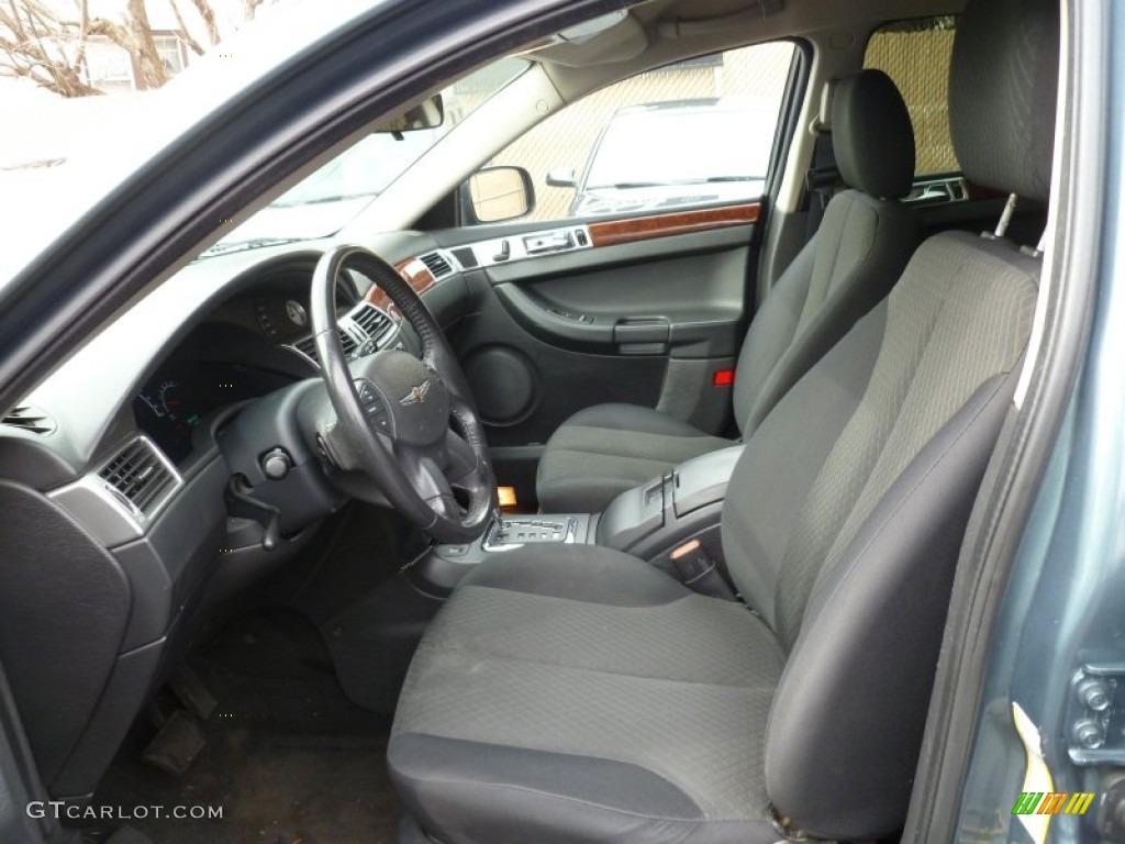 Dark Slate Gray Interior 2006 Chrysler Pacifica Touring Photo 78661780