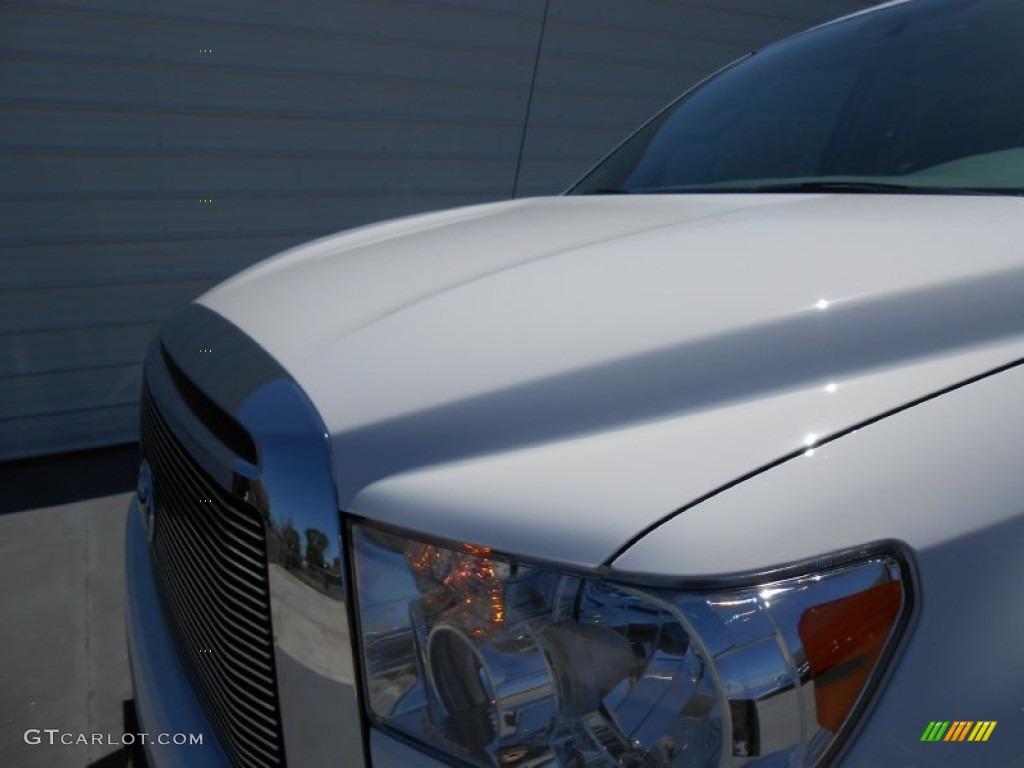 2013 Tundra Texas Edition CrewMax - Super White / Graphite photo #10