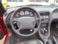 1999 Ford Mustang Dark Charcoal Interior Dashboard Photo