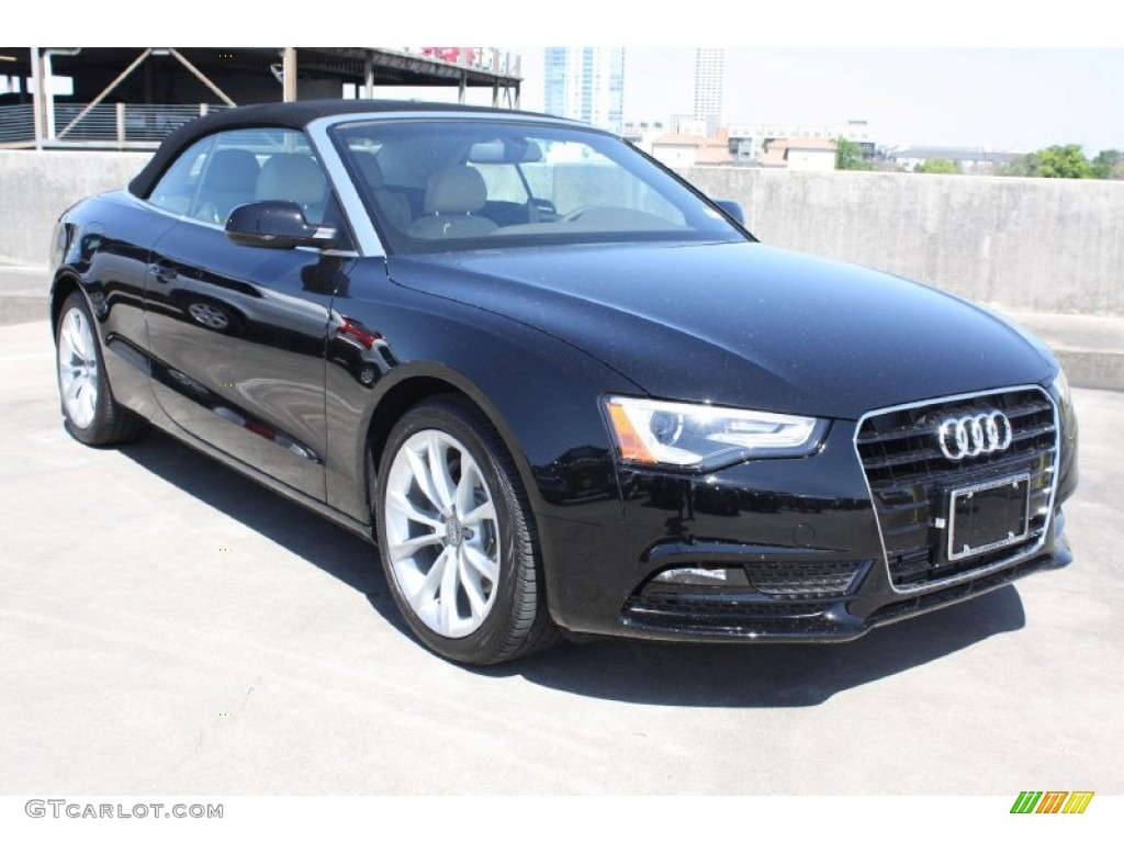 brilliant black 2013 audi a5 2 0t cabriolet exterior photo 78669700. Black Bedroom Furniture Sets. Home Design Ideas