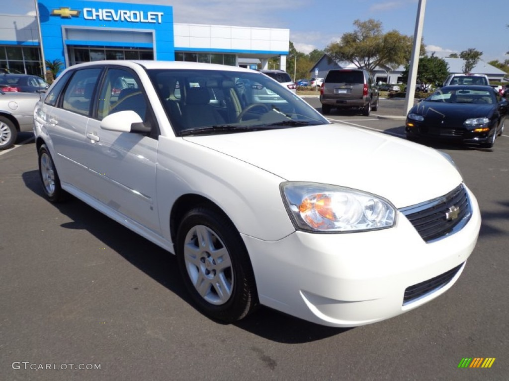 white 2006 chevrolet malibu maxx lt wagon exterior photo. Black Bedroom Furniture Sets. Home Design Ideas