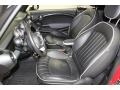 Lounge Carbon Black Leather Front Seat Photo for 2009 Mini Cooper #78671137