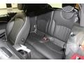 Lounge Carbon Black Leather Rear Seat Photo for 2009 Mini Cooper #78671156